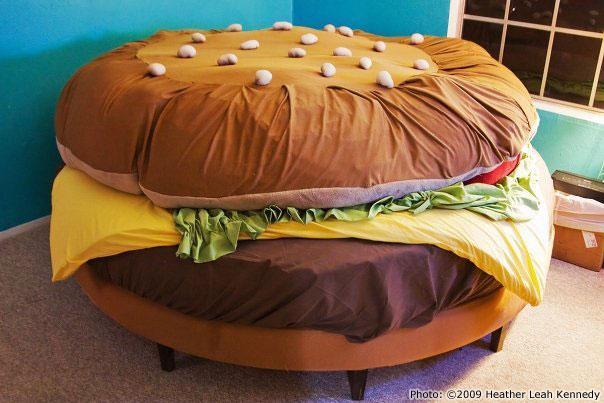 Необычные и креативные кровати.