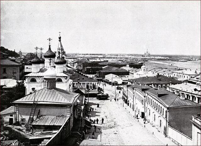 Фотографии Новгорода тогда и сейчас