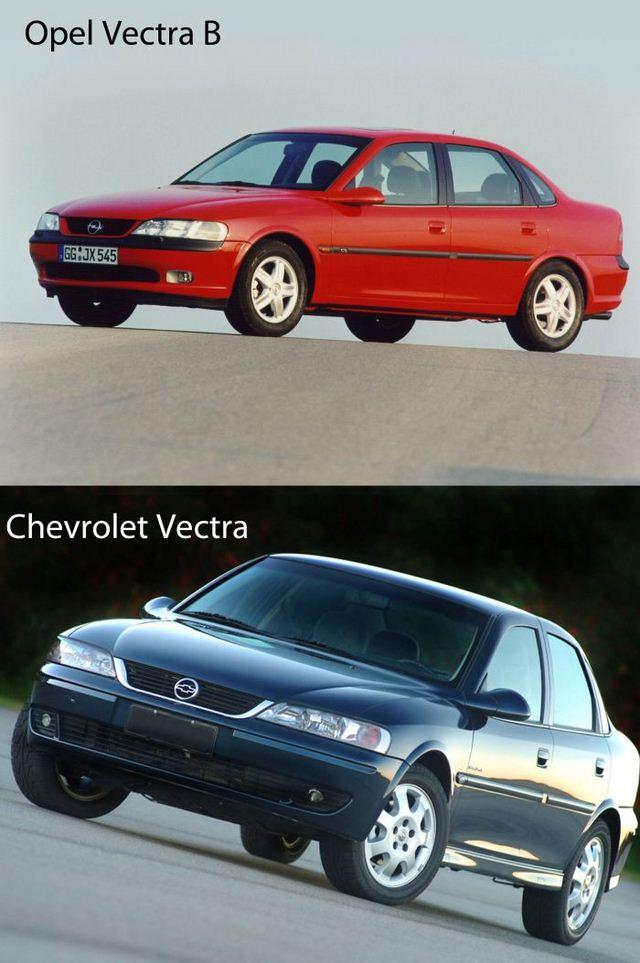 разных авто