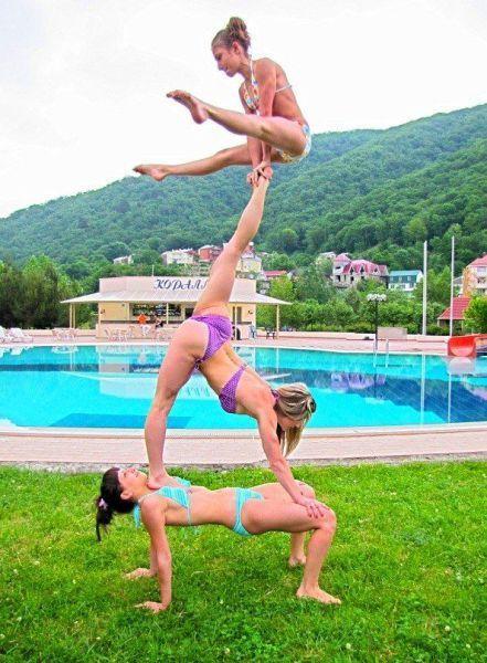 горячие гимнастки фото